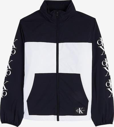 Calvin Klein Jacket in nachtblau / weiß, Produktansicht