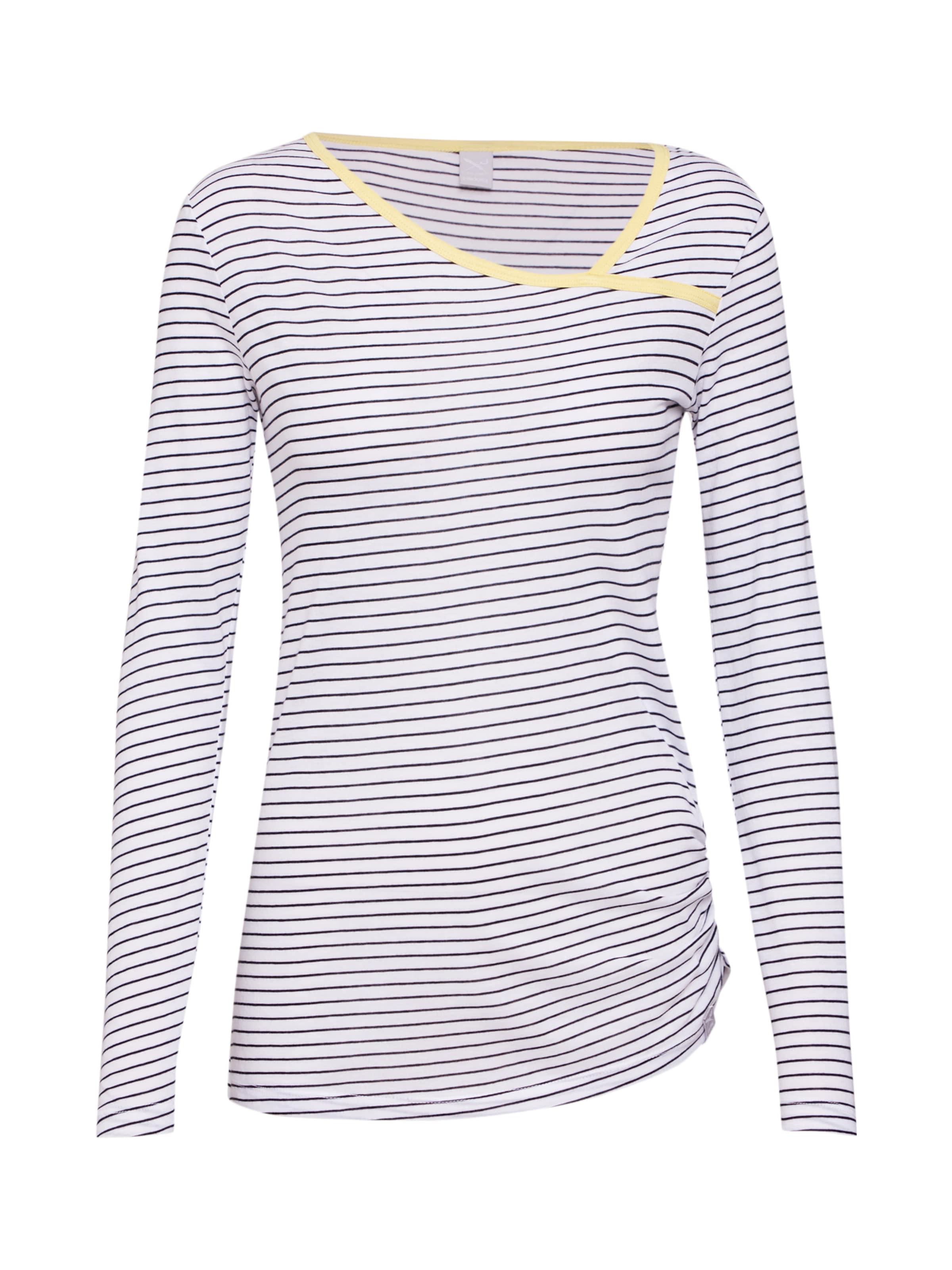 4' Stripe In Iriedaily 'asym SchwarzWeiß Streifenshirt KJcFl1