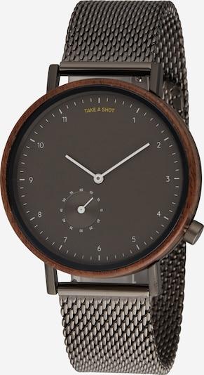 TAKE A SHOT Uhr 'Vernon' in braun, Produktansicht