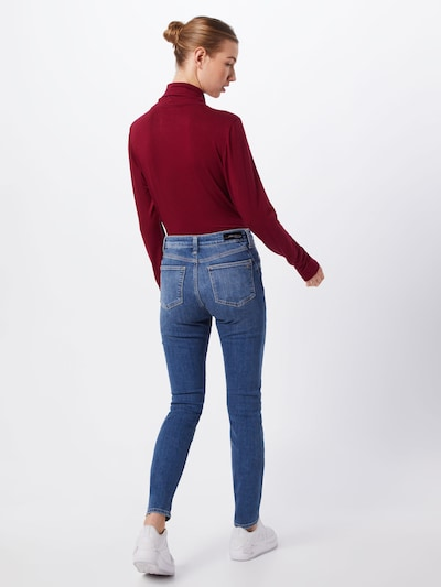 Mavi Jeans in blue denim: Rückansicht