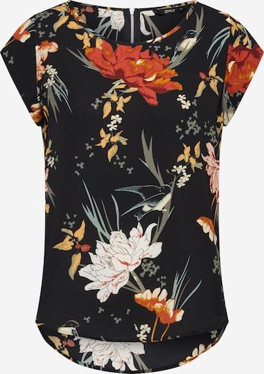 ONLY Bluse in mischfarben / schwarz, Produktansicht