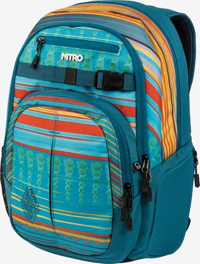 NITRO Sportrugzak 'Chase' in de kleur Petrol / Gemengde kleuren, Productweergave
