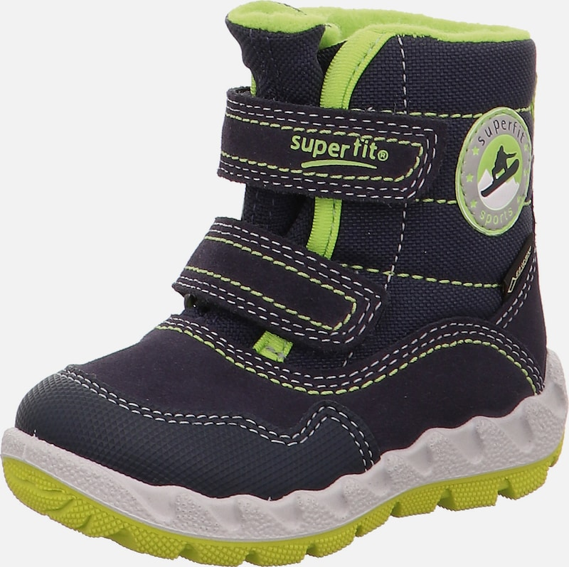 huge selection of 65d89 bff67 SUPERFIT Winterstiefel 'ICEBIRD' in nachtblau / kiwi   ABOUT YOU
