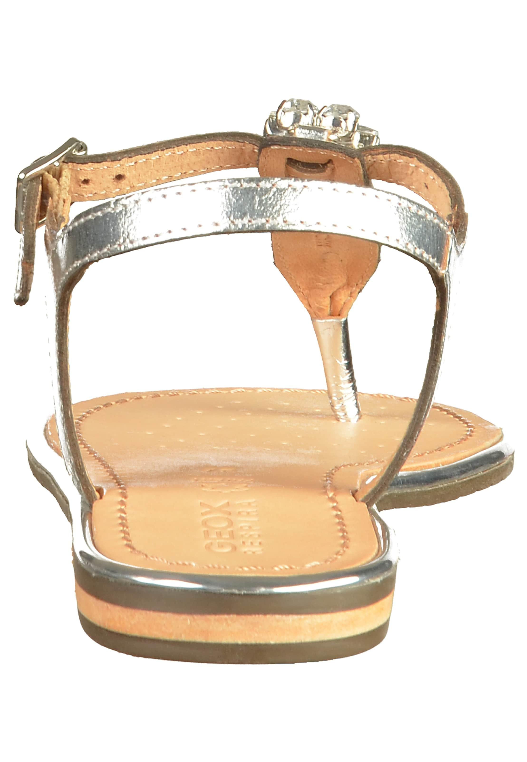 Silber Sandalen Sandalen Geox In Geox n0wyONm8v