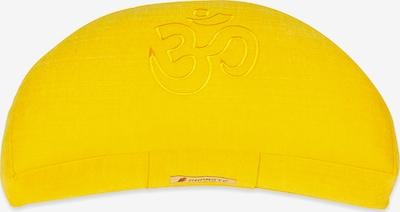 Yogishop Kissen 'Darshan Neo' in gelb, Produktansicht