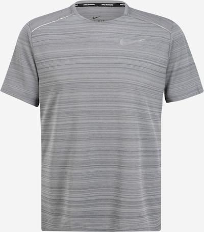 NIKE Funkcionalna majica 'Dry Miler' | pegasto siva barva, Prikaz izdelka
