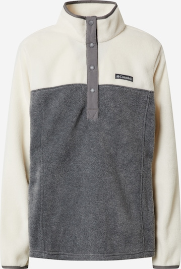 COLUMBIA Sport-Pullover 'Benton Springs™' in creme / grau, Produktansicht