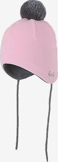 Barts Inkamütze NOVI Gr. 47, navy in grau / rosa, Produktansicht