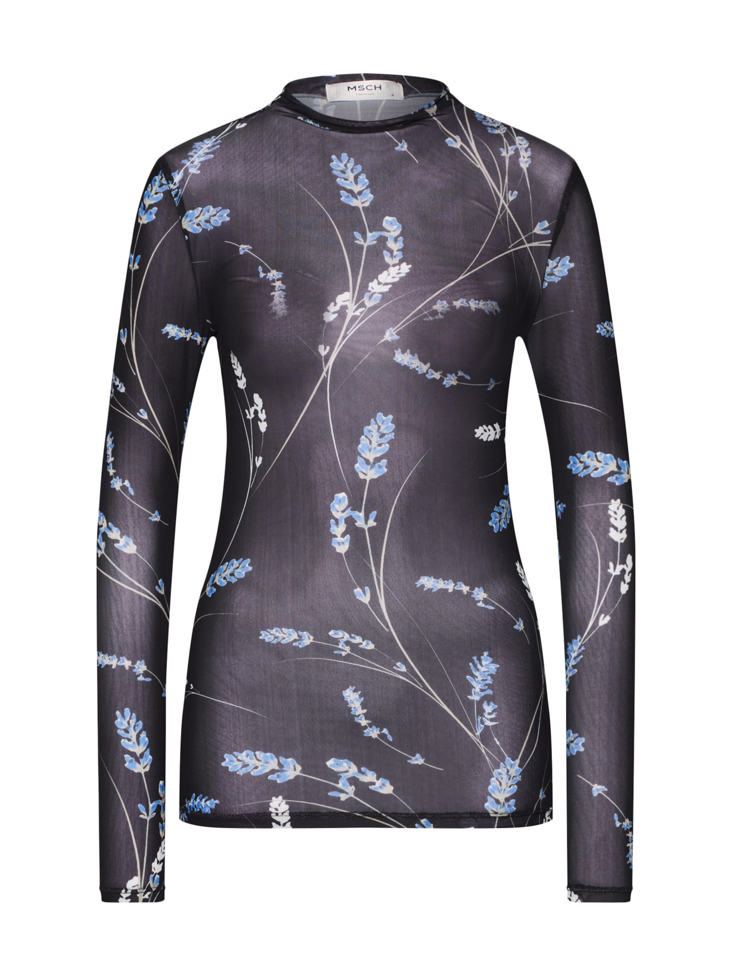 Copenhagen Moss Bleu shirt T ClairNoir En 'fleur' 6yIgf7Ybvm