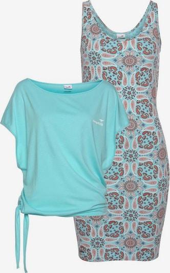 KangaROOS Kleid mit T-Shirt in hellblau / mischfarben, Produktansicht