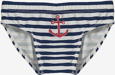 PLAYSHOES Bathing trunks in blue / white, Item view