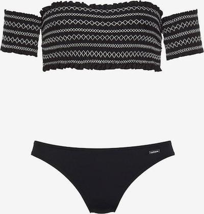 LASCANA Bikini in schwarz, Produktansicht