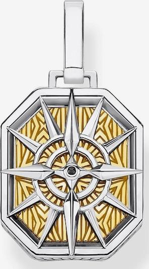 Thomas Sabo Kettenanhänger 'Kompass gold' in silber, Produktansicht