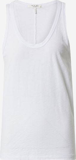 rag & bone Top 'The Slub Tank' - bílá, Produkt