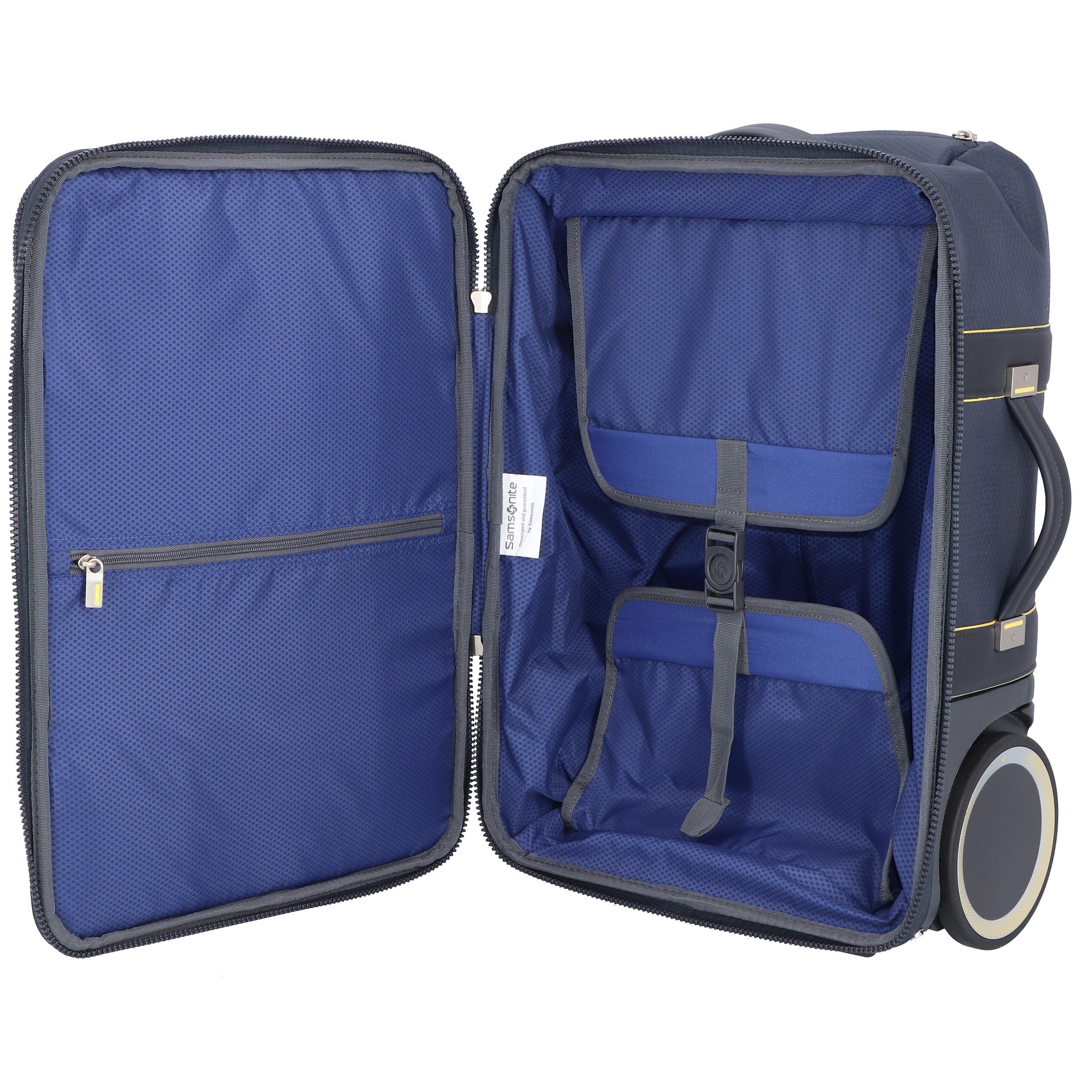 Laptopfach' Trolley 'zigo Blau rollen 55 In Samsonite Cm 2 Kabinentrolley H2WDYE9I