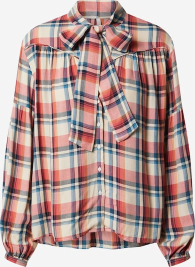 Pepe Jeans Blúzka 'Abigail' - krémová / námornícka modrá / červená, Produkt