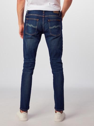 Džinsai 'Tight Terry' iš Nudie Jeans Co , spalva - tamsiai (džinso) mėlyna: Vaizdas iš galinės pusės