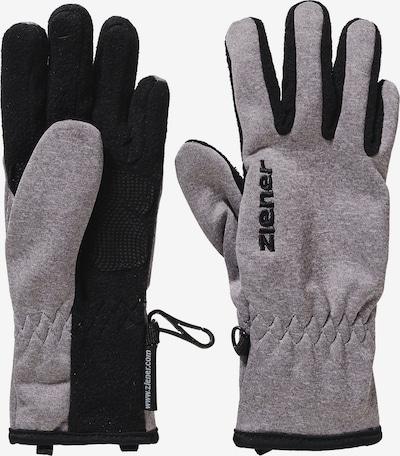 ZIENER Handschuhe 'Limport' in graumeliert / schwarz, Produktansicht