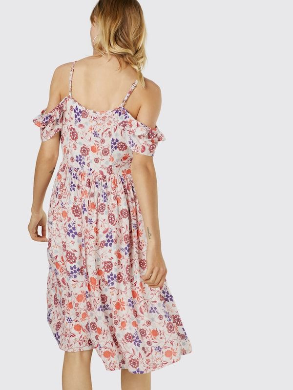 Yumi Kleid 'SWIRL LACE COLD SHOULDER'