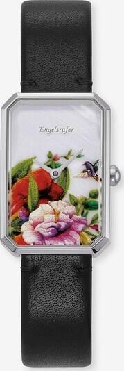 Engelsrufer Uhr in mischfarben / schwarz / silber / perlweiß, Produktansicht