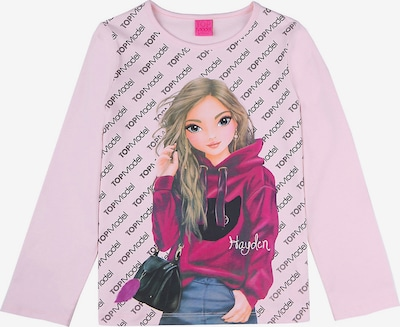 TOP MODEL Shirt Langarmshirts in rosa, Produktansicht