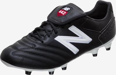 new balance Fußballschuhe in schwarz / weiß, Produktansicht