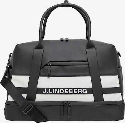 J.Lindeberg Boston Tasche in schwarz, Produktansicht