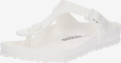Flip-flops 'Gizeh EVA' BIRKENSTOCK pe alb, Vizualizare produs