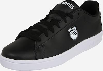 K-SWISS Sneaker 'COURT SHIELD' in schwarz / weiß, Produktansicht