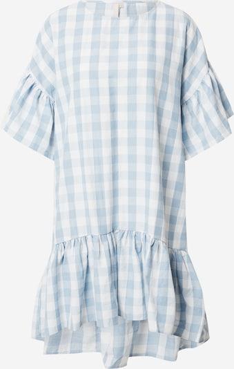 PIECES Sukienka Mary w kolorze niebieski / białym N4Qlxve1
