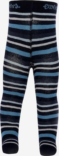 EWERS Strumpfhose in rauchblau / nachtblau / weiß, Produktansicht