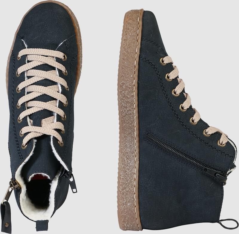 RIEKER Sneaker High in Leder-Optik Hohe Qualität