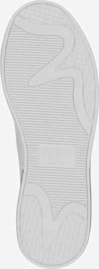 Pepe Jeans Baskets basses 'BROMTON MANIA' en blanc: Vue de dessous