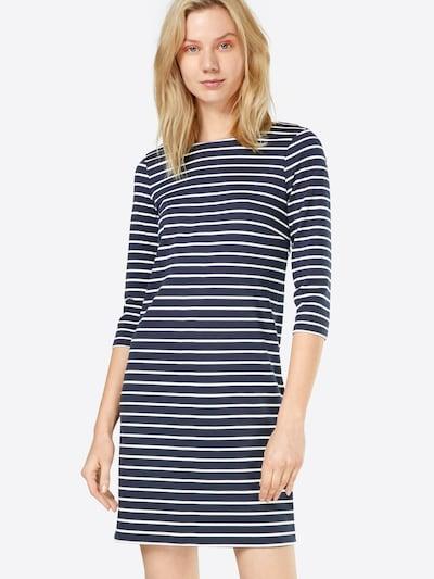 VILA Jerseykleid 'Vitinny' in blau / weiß, Modelansicht