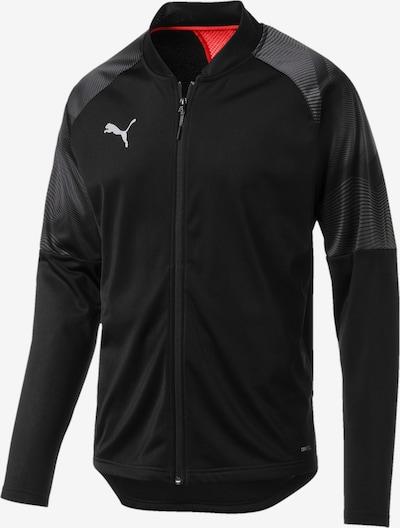 PUMA Sportjas in de kleur Rood / Zwart, Productweergave