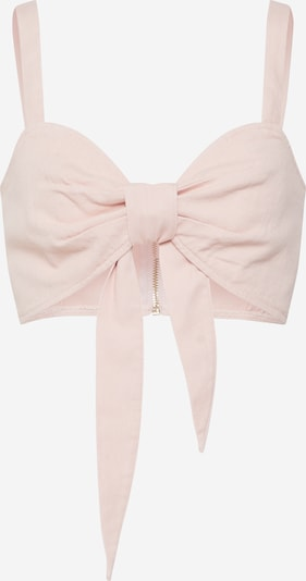 Missguided Top 'Tie Front Co Ord Bralet Pink' in pink, Produktansicht