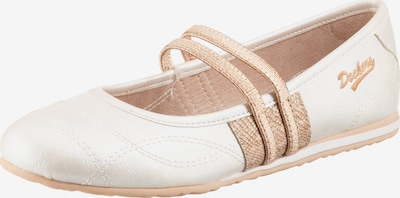 Dockers by Gerli Strap ballerina in Powder / Pearl white, Item view