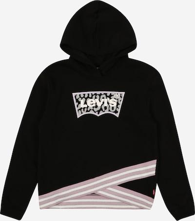 LEVI'S Sweater majica u bež / crna, Pregled proizvoda