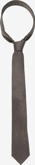 SEIDENSTICKER Krawatte 'Schwarze Rose' in gelb / schwarz, Produktansicht