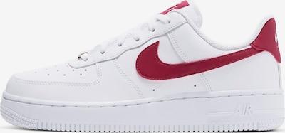 Sneaker bassa 'Air Force 1' Nike Sportswear di colore rosso / bianco, Visualizzazione prodotti