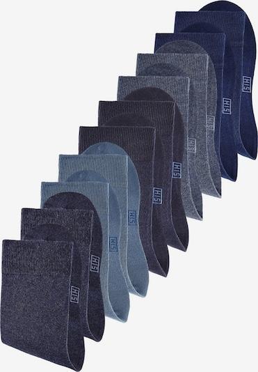 H.I.S Chaussettes en bleu, Vue avec produit