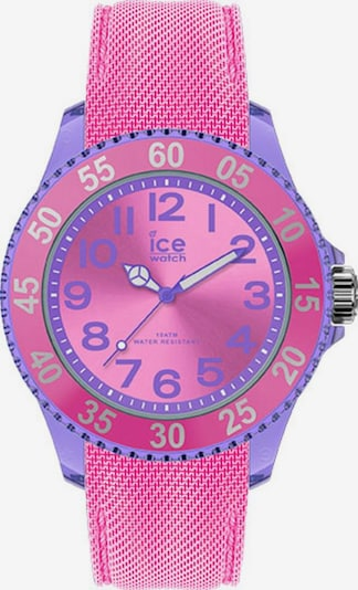 ICE WATCH ice-watch Quarzuhr »ICE cartoon, 017729« in hellblau / pink, Produktansicht