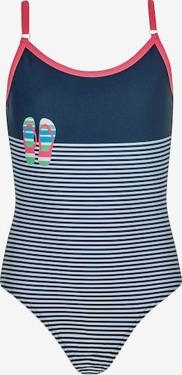 OLYMPIA Badeanzug in blau / rot / weiß, Produktansicht