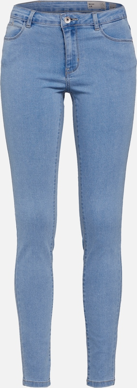 VERO MODA Jeggings 'VMJULIA' in blue denim: Frontalansicht