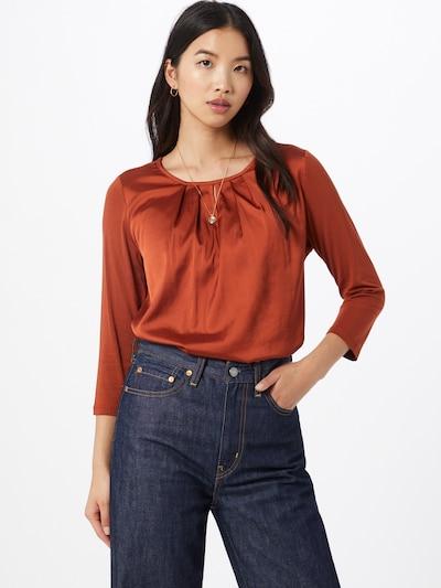 MORE & MORE Bluse in orangerot, Modelansicht
