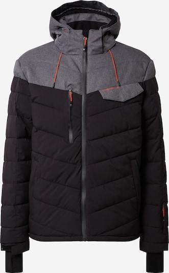 KILLTEC Outdoor jakna 'Combloux' u siva / crna, Pregled proizvoda