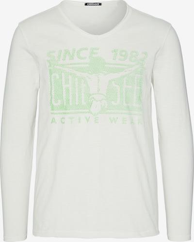 Tricou funcțional CHIEMSEE pe alb, Vizualizare produs
