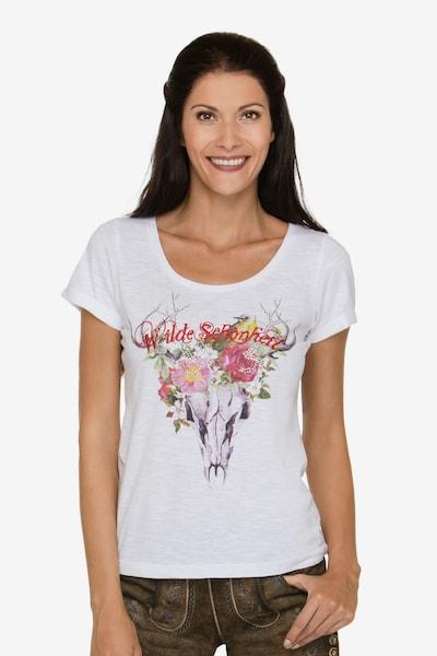 STOCKERPOINT Shirt 'Mercy' in mischfarben / weiß, Modelansicht
