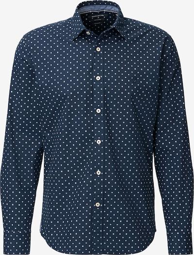 Marc O'Polo Hemd in enzian / weiß, Produktansicht