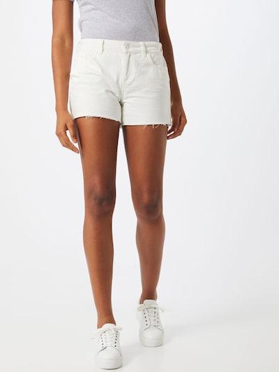 Dorothy Perkins Jeans in de kleur Wit: Vooraanzicht